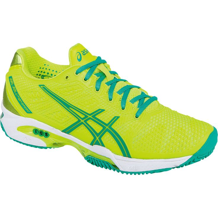 Asics Gelsolution Speed 2 Clay Court Womens Tennnis Shoe