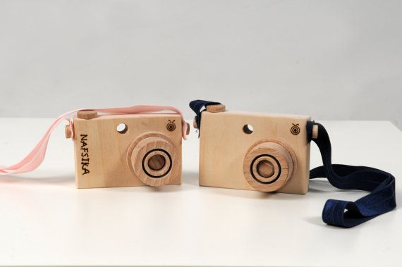 Personalized Wooden Toy Camera  Handmade Play Camera by beigebois, €18.00
