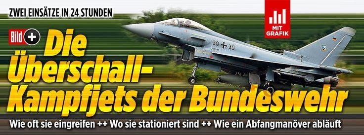 Die Überschall-Kampfjets der Bundeswehr