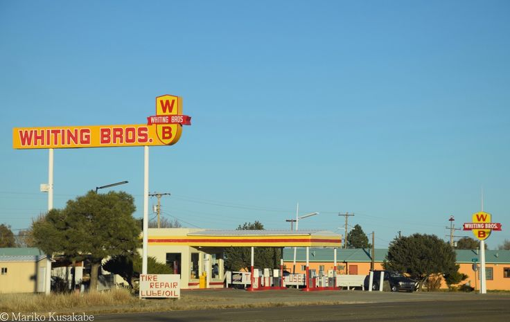 """"""" Whiting Brothers """" in Moriarty New Mexico  """" Route 66 on My Mind """" Route 66 blog ; http://2441.blog54.fc2.com/ https://www.facebook.com/groups/529713950495809/ http://route66jp.info/"""