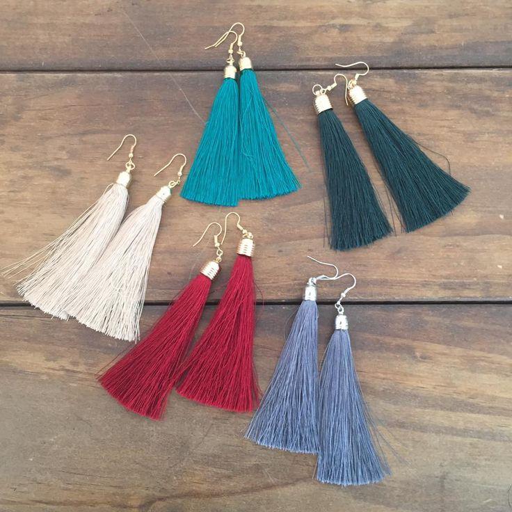 Tomoko tassel earrings from Ruby Six