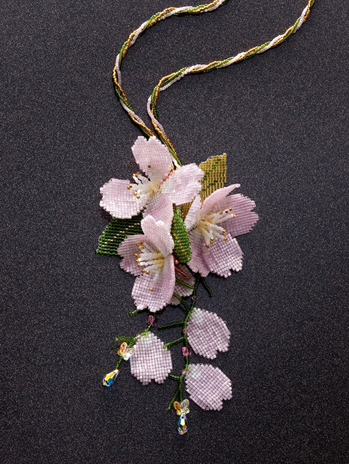 fluttering cherry blossoms - at 2012 B