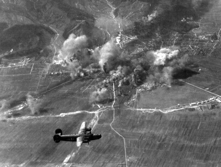 FOTO - VIDEO: Brașovul bombardat în anul 1944