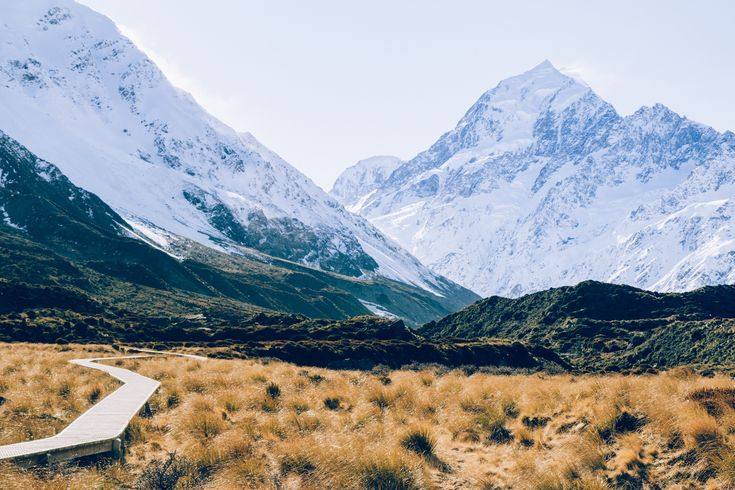 Hooker Valley Track in Canterbury