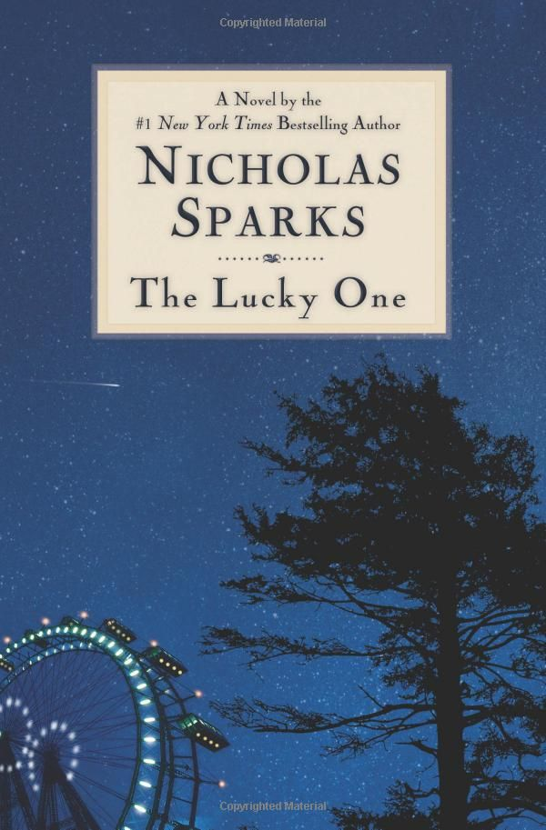 The Lucky One -- I want to read this