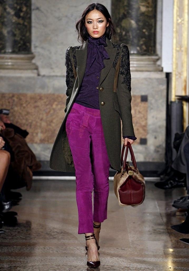 Emilio Pucci F/W 2011. Gorgeous traditional and kaki