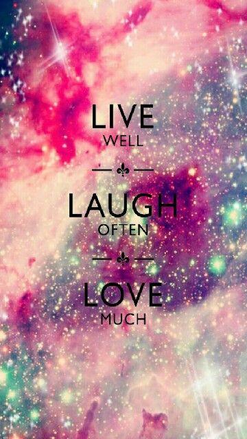 жить хорошо смеяться часто люблю.