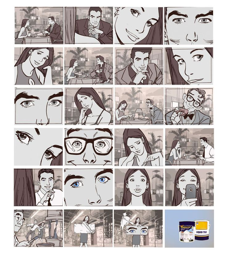 19 best Commercial Storyboard Examples \ Studies images on - commercial storyboards