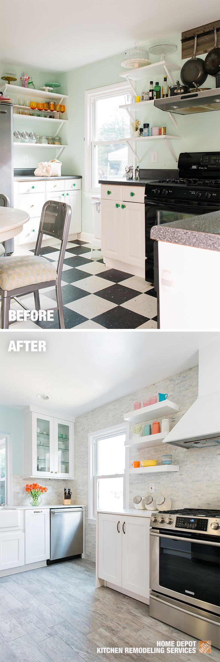 146 best Small Spaces, Big Impact images on Pinterest   Kitchen ...