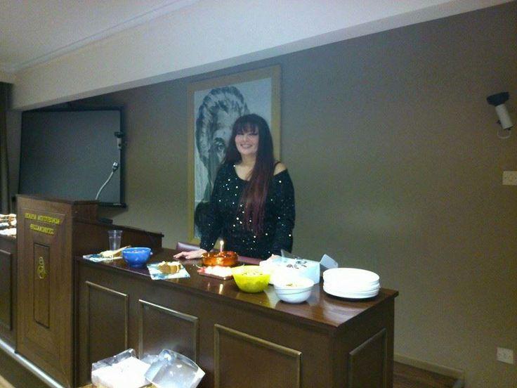 γενέθλια στην Εταιρία Λογοτεχνών