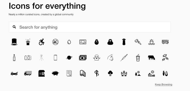 banque icone web gratuite nounproject