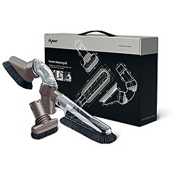 @Overstock - Dyson home cleaning kit contains tools for dusting, scrubbing and vacuuming Handy floor care accessory fits all Dyson vacuums Kit includes a soft dusting brush, stiff bristle brush and multi-angle brushhttp://www.overstock.com/Home-Garden/Dyson-Home-Cleaning-Kit-New/4140291/product.html?CID=214117 $50.47