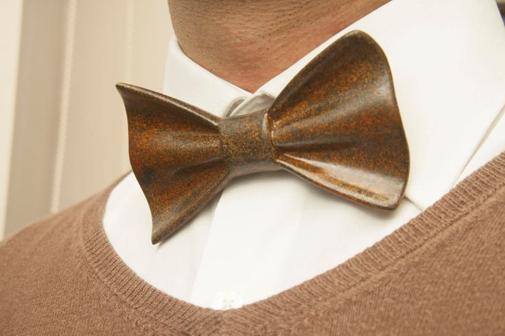 brown bow tie, Pied Brown Ceramic Bow tie, mens brown bow tie, grooms bow tie, wedding bow tie, mens accessories, mens bow tie, hipster by peracollection on Etsy