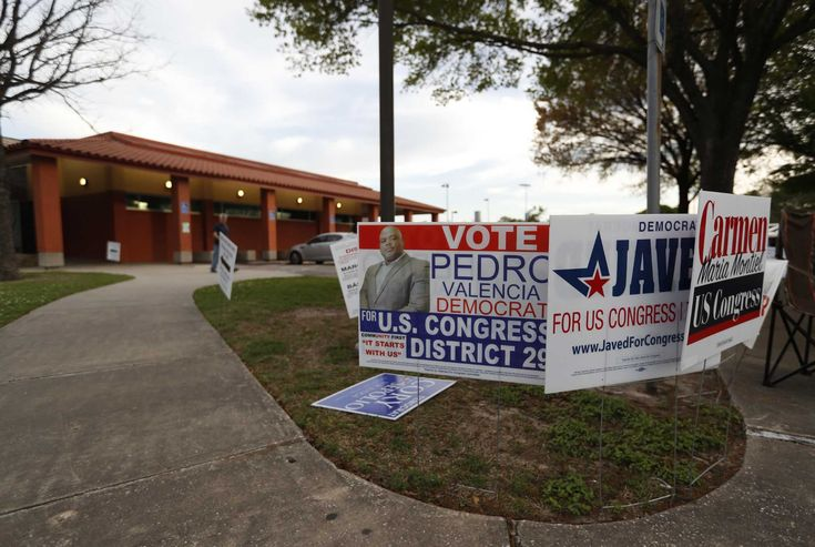 Texas sets early voting record in nonpresidential year...