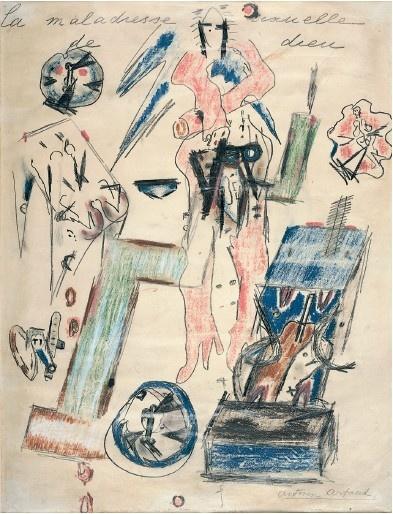 Antonin Artaud: La Maladresse Sexuelle de Dieu, 1946