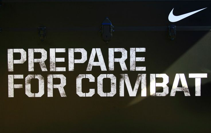 Nike Football Quotes | Prepare for Combat (Photo courtesy of Simone Nageon de Lestang)