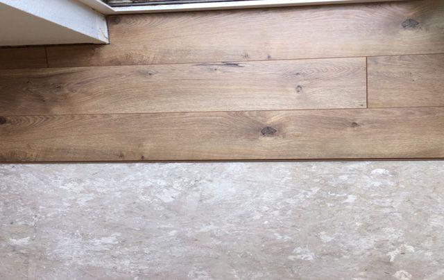 New Floors: Harmonics Camden Oak. Petite Modern Life blog.