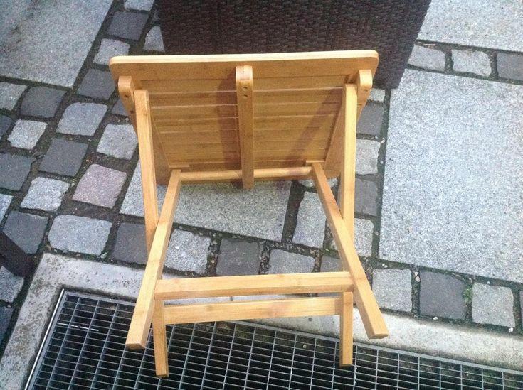 Amazon.de:Kundenrezensionen: Songmics Bambus Beistelltisch Klapptisch  Klapptisch Holz Tisch Gartentisch Gartenmöbel Garten