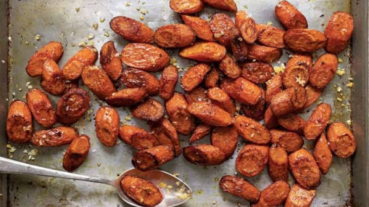 Roasted Carrots With Allspice Recipe — Dishmaps