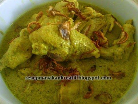 Resep Opor Ayam Bumbu Kuning - Resep Masakan Indonesia