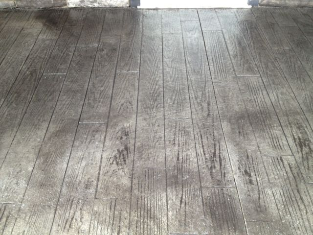 Stamped Concrete Plank Pattern Google Search House