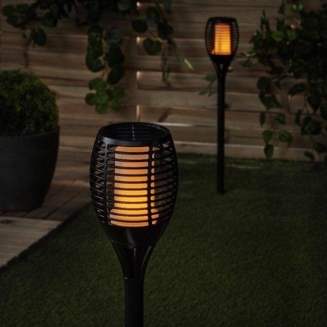 Torche solaire imitation flamme à poser ou planter en 2019 ...