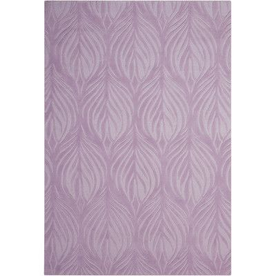 Lavender Area Rug from Wayfair Pair this lovely rug with a chic bench for a charming entryway ensemble, or simply let it define space on its own in your den or hallway.