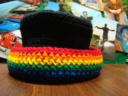colorful #crochet hat for #stpatricksdayCrochet Pattern