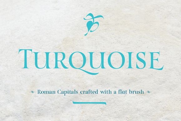Turquoise by Resistenza on @creativemarket