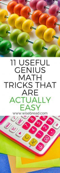 11 Useful Genius Math Tricks That Are Actually Easy | Essential Life Hacks | #lifehacks #mathshacks