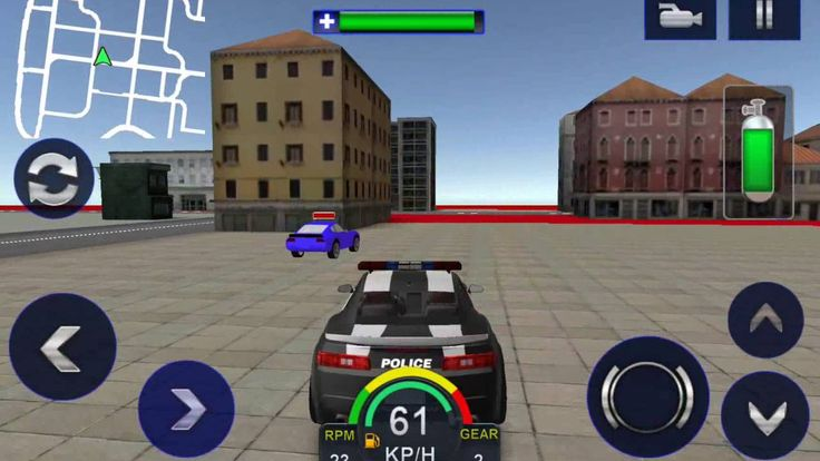 Chase and Smash criminals in this thrilling Police driving simulator! Be the Bravest Cop and Play for Greater Cause!! Drive Chase and Catch the Criminals!! Imagine the rush and thrill of chasing and smashing all those crooks that pose a threat to the peace in city! The cliché cops vs. robbers story gets a brand new twist with this Police Chase Adventure Sim 3D. Your city is in need of a COP HERO who can chase down even the most wanted thugs and help eliminate crimes! Report for duty OFFICER…