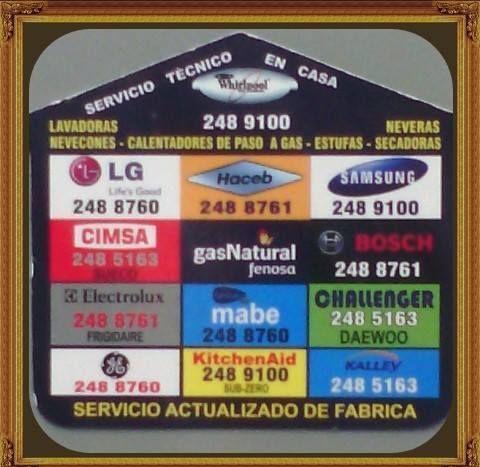 REPARACION DE LAVADORAS DE TODAS LAS MARCAS EXISTENTES EN EL MERCADO
