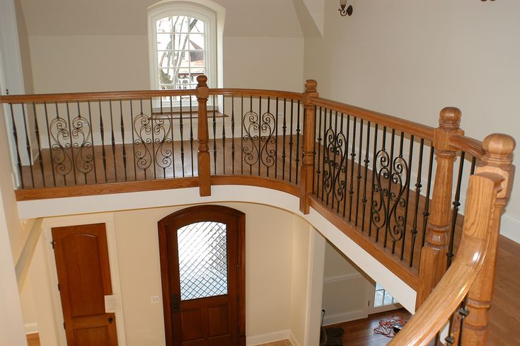Best Custom Stair Railings On Balcony Gothic And S Scroll Serieas Wrought Iron Balusters Www Jusalda 400 x 300