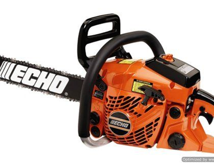 Echo CS-400 18 in. 40 cc gas chainsaw review