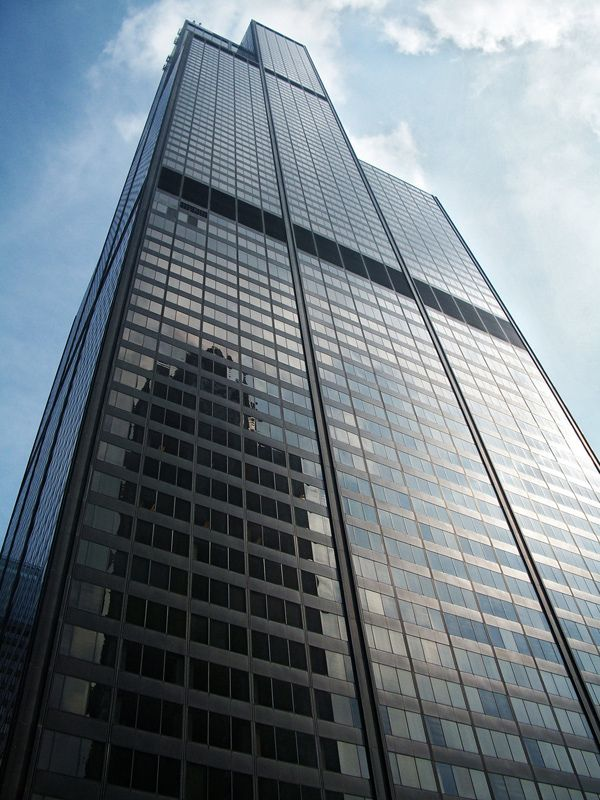 Willis Tower – 442 m