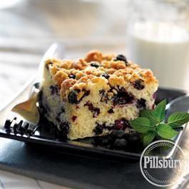 Recipe Bluebarry Coffee Cake