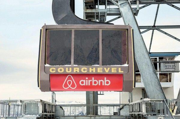 Ski Hotel cableway Courchevel France
