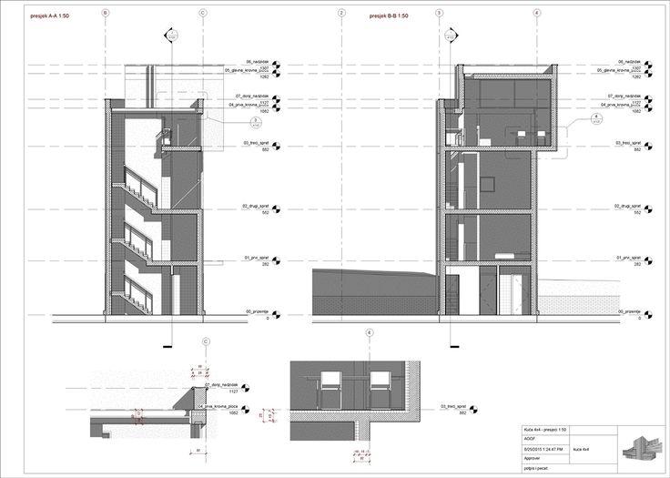 DAP - Revit Architecture - Tadao Ando - House 4x4 on Behance
