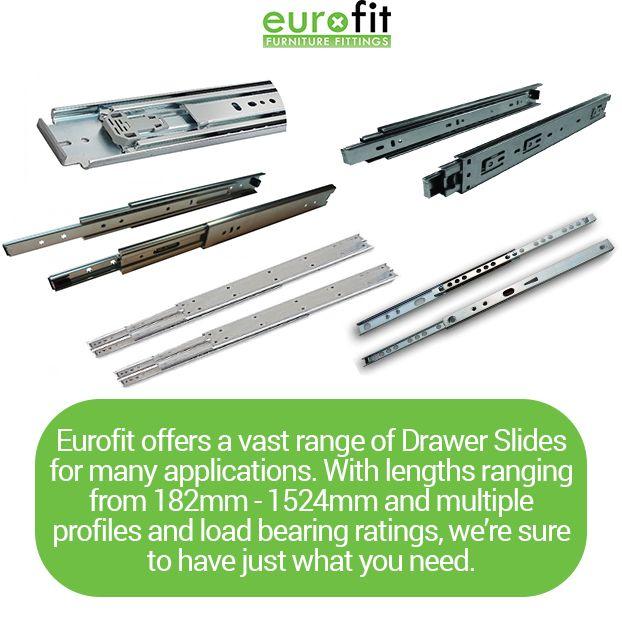 Eurofit Drawer Slide Selection   Drawer Slides At Eurofit