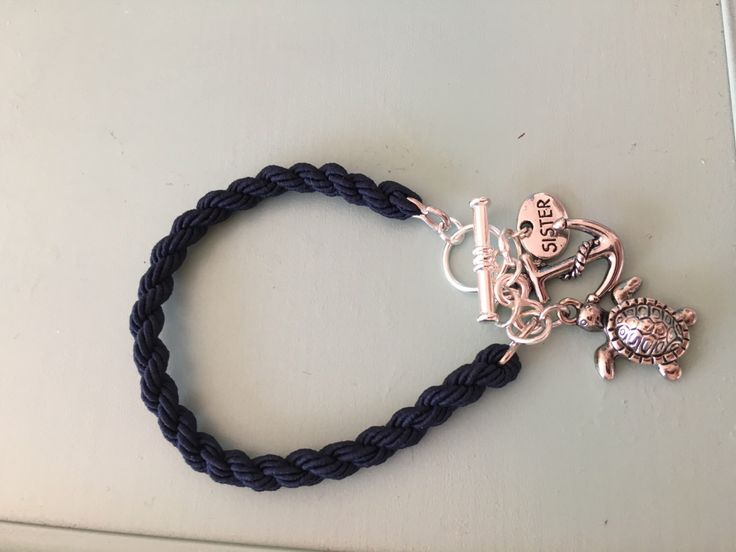 A personal favorite from my Etsy shop https://www.etsy.com/listing/466518583/nautical-boot-band-bracelet