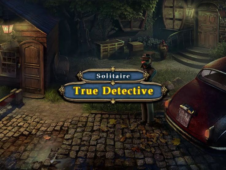 True Detective Solitaire Game Download: http://www.bigfishgames.com/games/11119/true-detective-solitaire/?channel=affiliates&identifier=af5dc3355635 True Detective Solitaire PC Game, Hidden Object Games. Can you prove that you are the True Detective by solving all clues, left by the villain in form of solitaire puzzles and prevent his further crimes? Download True Detective Solitaire Game for PC for free!
