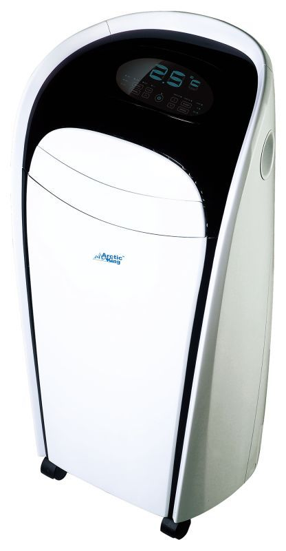 Arctic King AKP-08CR4 8000 BTU 115 Volt Portable Air Conditioner with Remote Con White Air Conditioners Portable Cool Only
