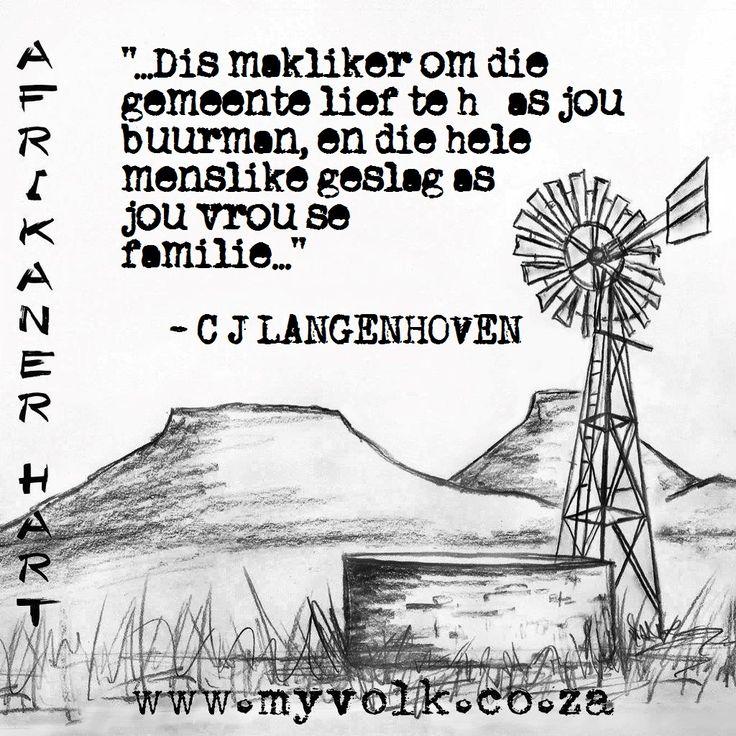 C.J Langenhoven