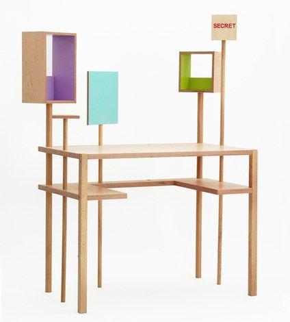 Bureau La forêt des boîtes, design Matali Crasset, Balouga - Prix sur demande
