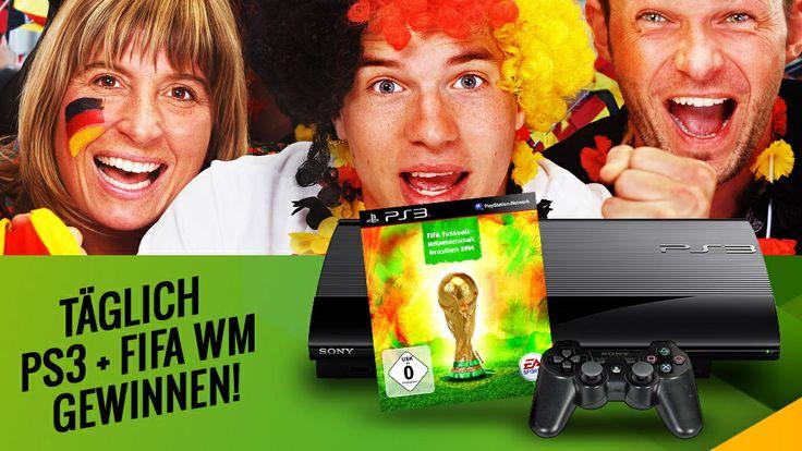 Machen Sie mit beim Countdown zur Fußball-WM 2014 und gewinnen Sie mit Sony und COMPUTER BILD täglich ein Playstation-Bundle.