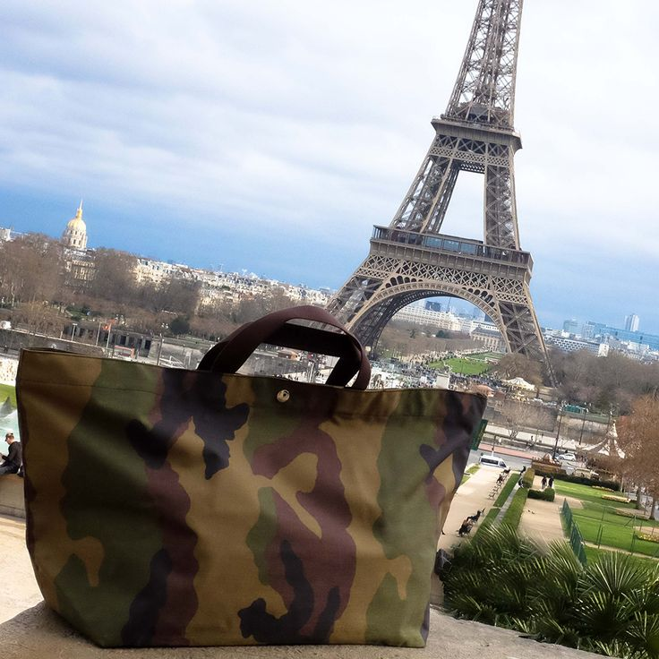 Discovering unforgettable Paris sights with my latest Hervé Travel Bag