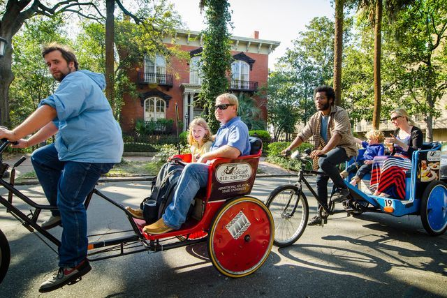 11 Things to Do in Savannah, Ga.: Get a Pedicab and Driver for an Entire Day in Historic District of Savannah