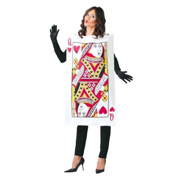 Disfraz de Carta de Reina de Corazones Mujer Comprar disfraces online al mejor precio.