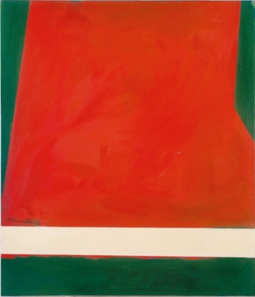 Robyn Denny   Place 3 1959   Oil on canvas   72 x 84 inches [182.9 x 213.4 cm]