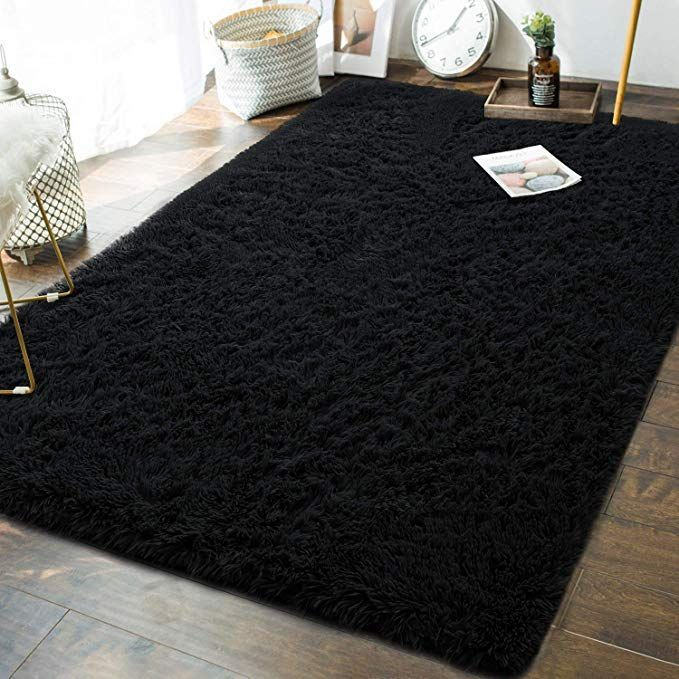 Link Goes To Amazon Soft Fluffy Bedroom Area Rugs 5 X 8 Feet Indoor Modern Shaggy Plush Rug For Boys Kids In 2020 Bedroom Area Rug Plush Area Rugs Kids Living Rooms